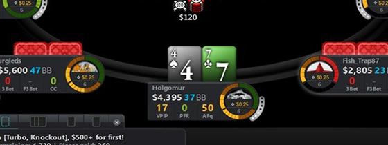 Best Poker Rooms without HUD