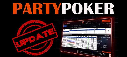 PartyPoker Software update