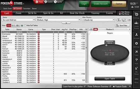 pokerstars italy lobby