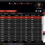 pureplay poker lobby